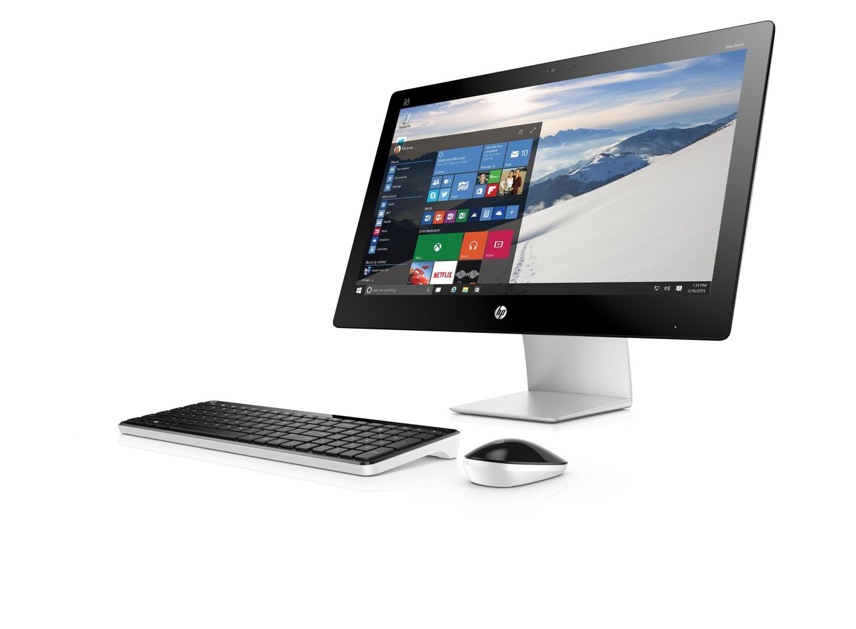 HP Pavilion 23-q150na All-in-One - HP Store UK   Home Office ...