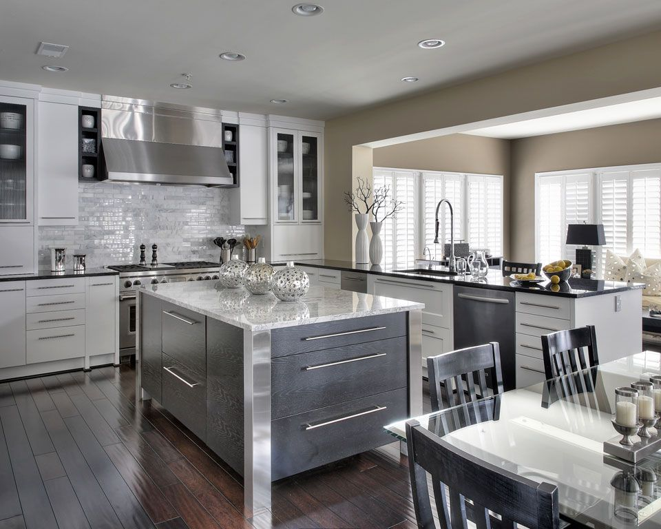 Oakville Kitchen Designers | Transitional Kitchen Design Cabinet ...