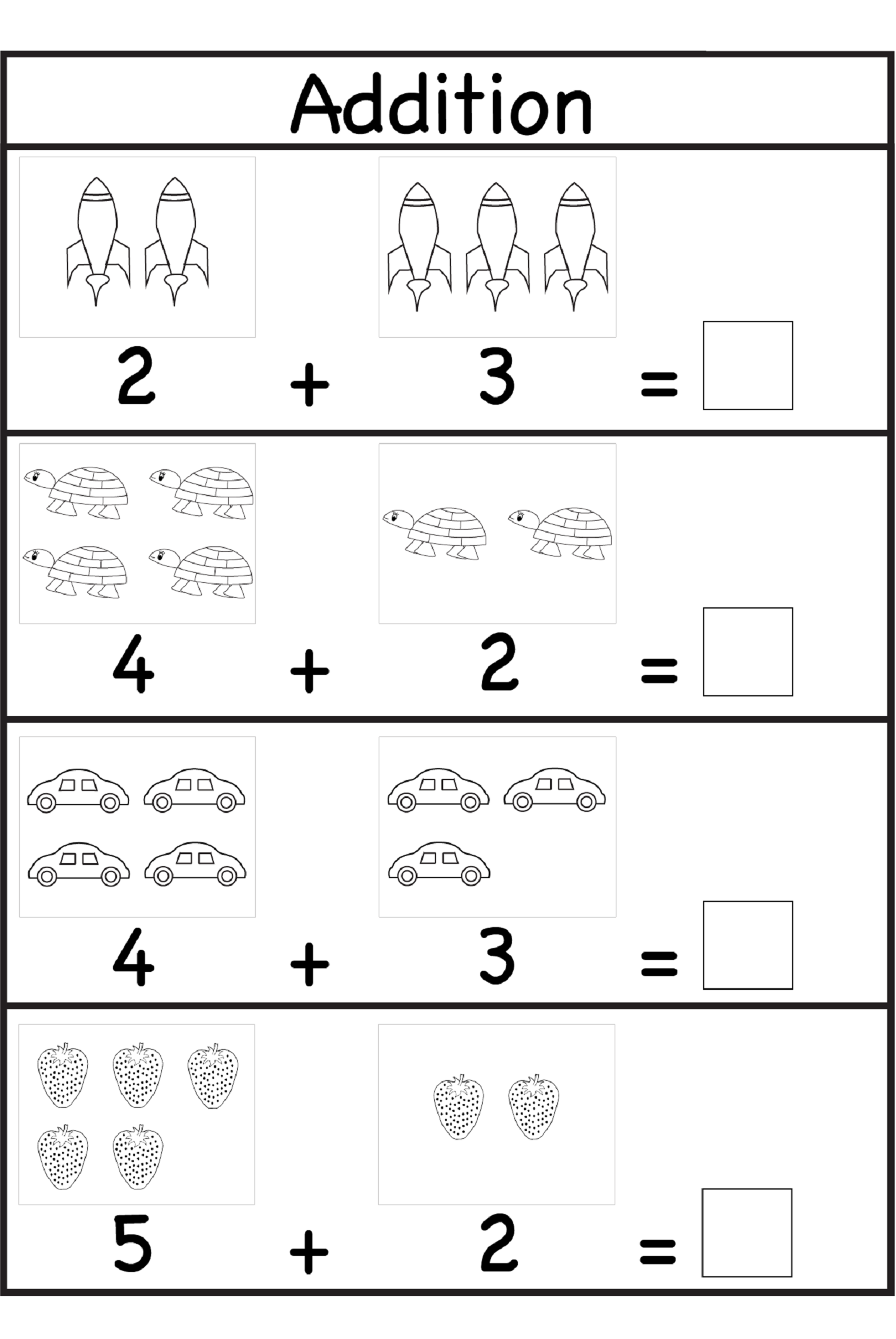 grade 1 worksheet Yahoo Image Search Results – Maths Addition Worksheets for Grade 1