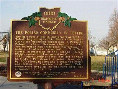 Historical Marker Historical Marker Ohio History Toledo Ohio