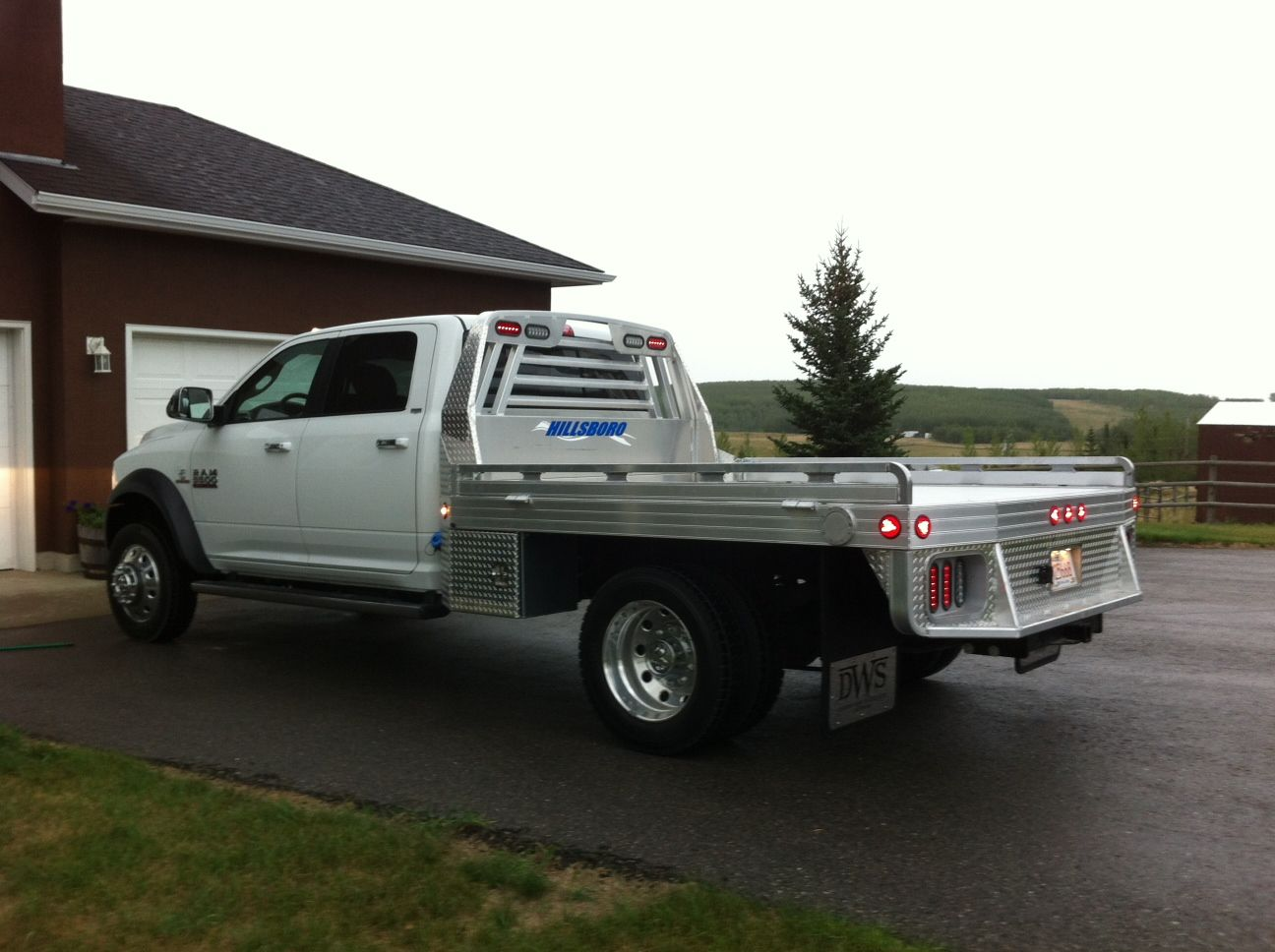 Courtesy of Diamond West Sales Aluminum truck beds