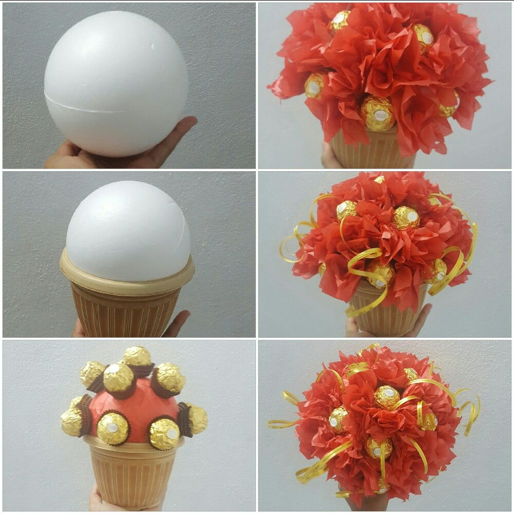 ferrero Rocher bouquet... | my diy creations | Pinterest | Ferrero ...