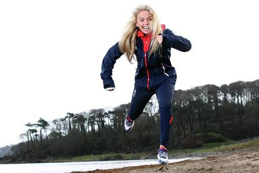 Aimee can run too!
