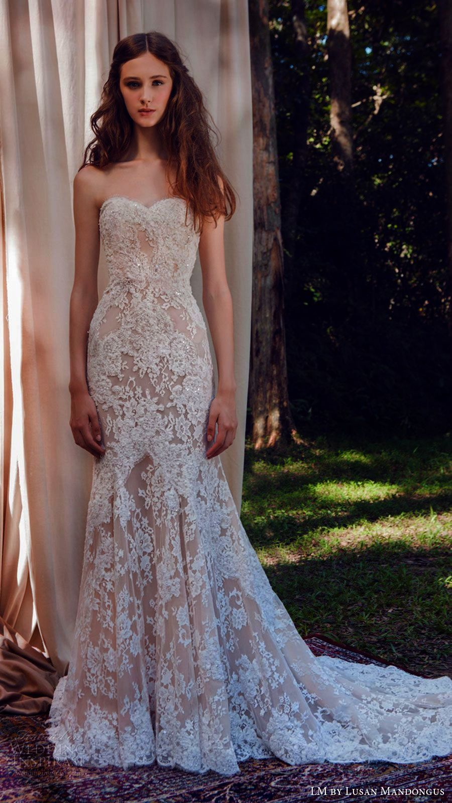 White mermaid wedding dress  Lace Mermaid Wedding Dress Ebay Lace Wedding Dress Gold Belt  Lace