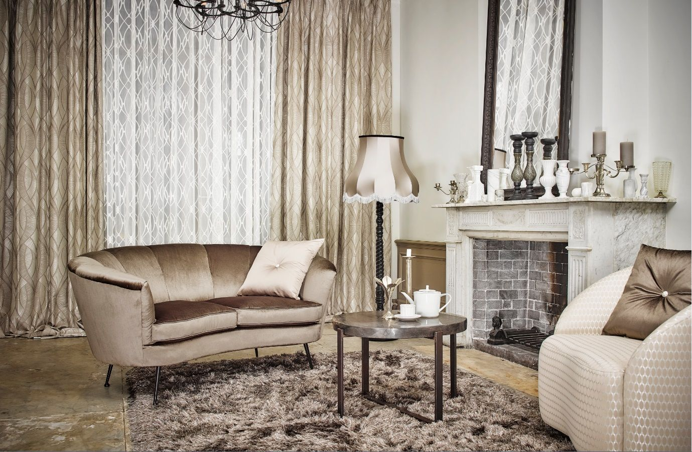 Gordijnen #meubelstoffen #inbetween #stoffen #interieur #decoratie