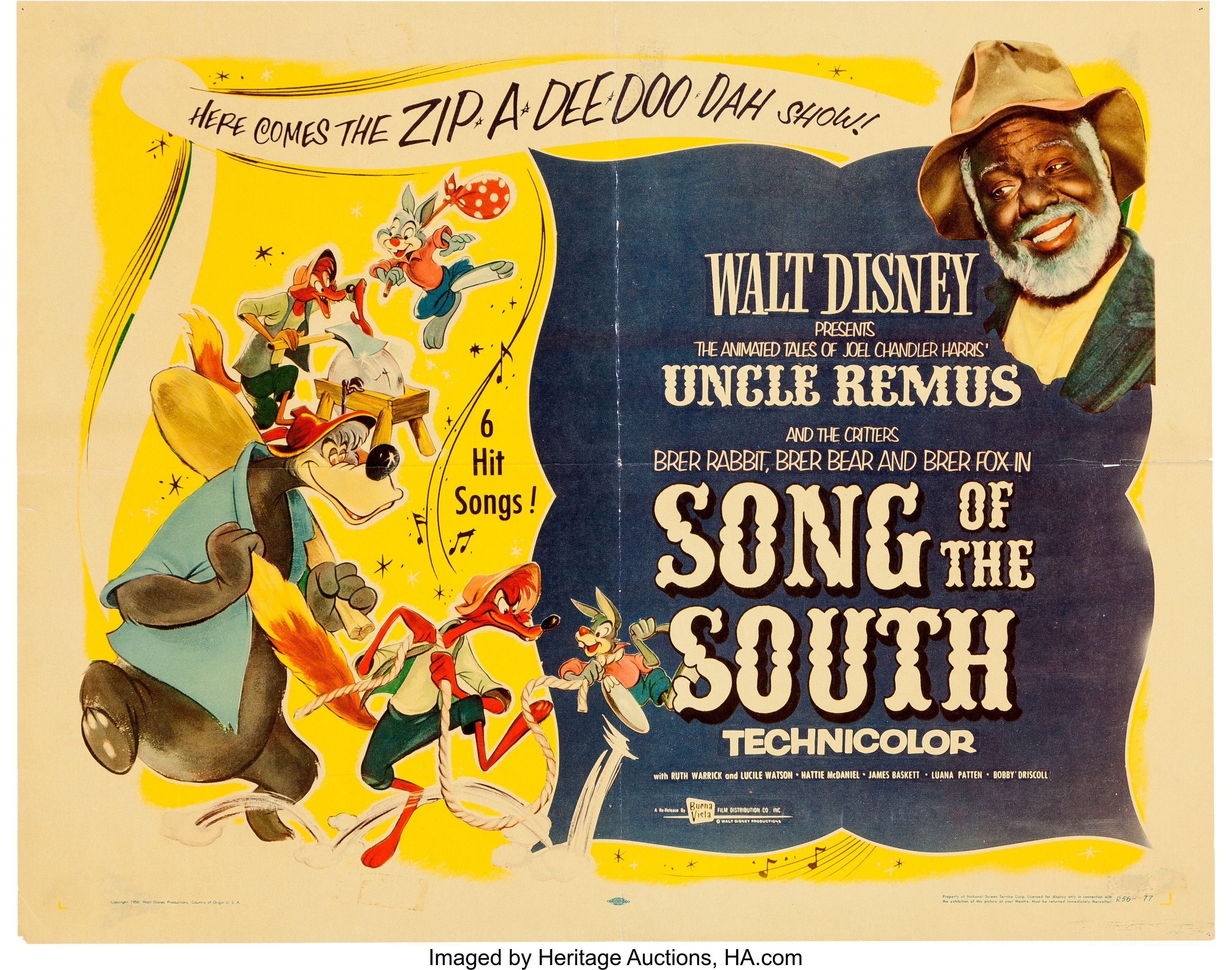 """Song of the South"" (Walt Disney, 1946) Song of the"