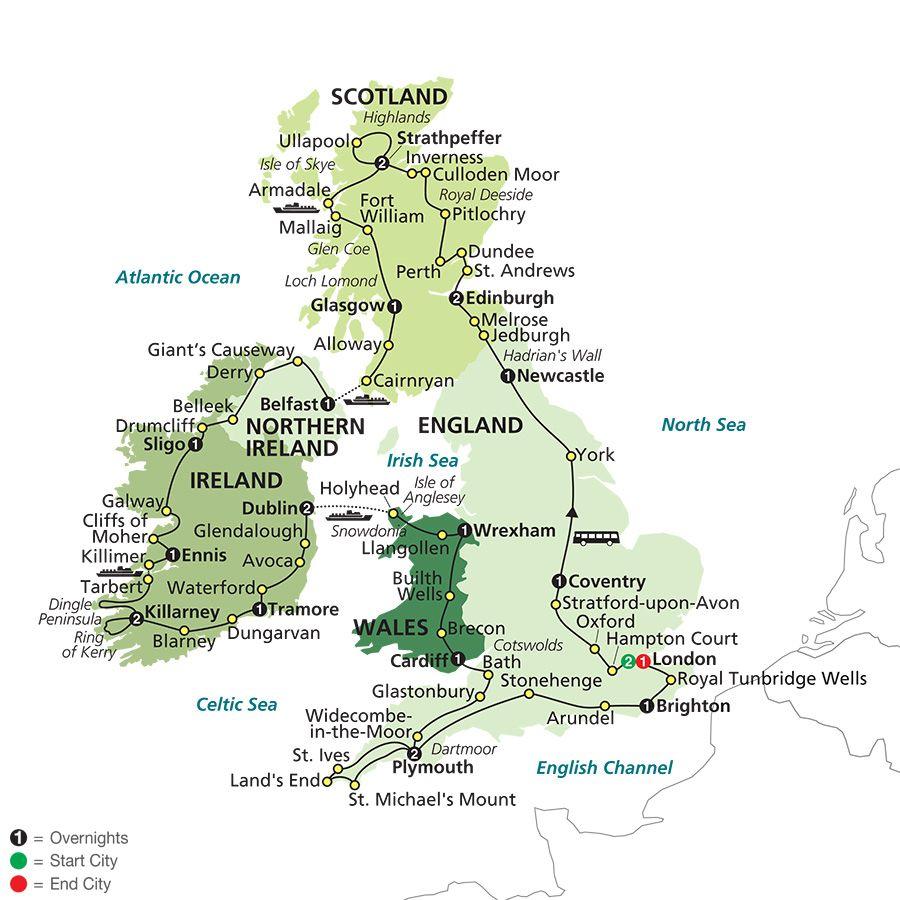 British Isles Tours