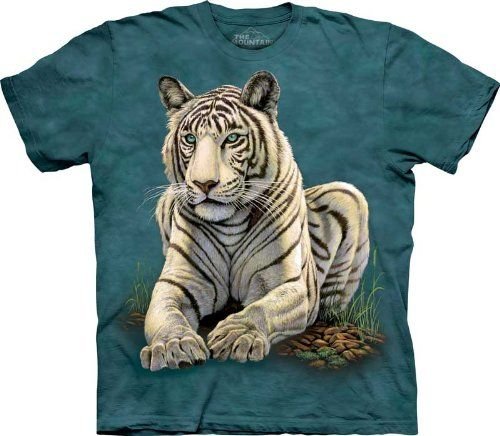 The Mountain Tiger Gaze Adult T-shirt S The Mountain http://www.amazon.com/dp/B004OT8UIM/ref=cm_sw_r_pi_dp_ztqzub1W46ZKW