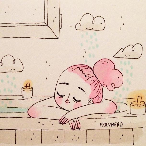 Relax Illustration by Frannerd