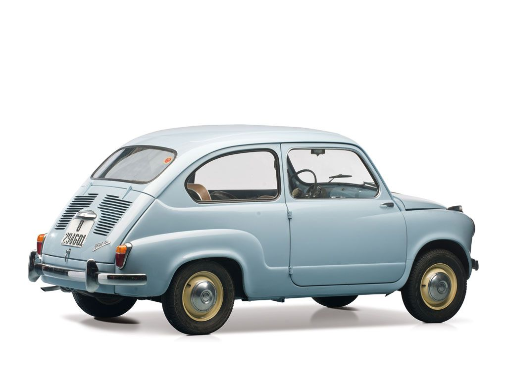 Seat 600 1961 Retro Cars Mini Cars Fiat 600
