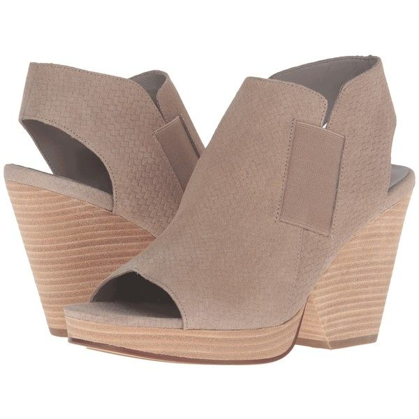 Eileen Fisher Plus (Earth Basket Weave Print Leather) High Heels ($96) ❤
