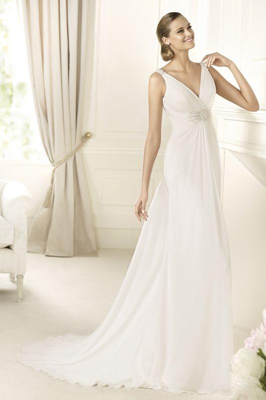 Pronovias, vestidos de novia desde 1.050€ | Sandía | Pinterest | De ...