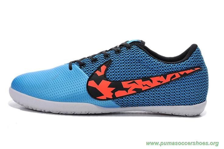 buy online 1806f 60483 10)  t5 blue black orange nike elastico pro iii indoor mens for sale online