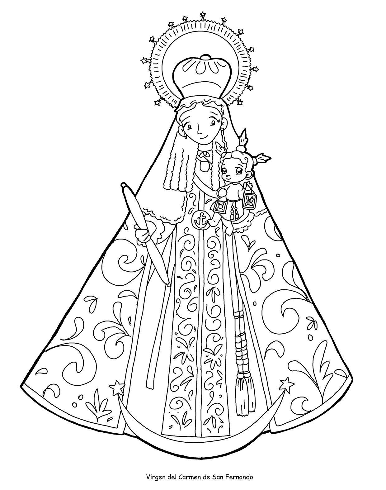 Pin En Virgen Maria