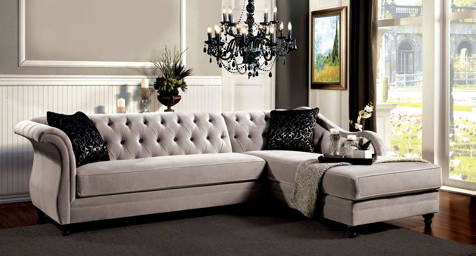 Sofa In French Meaning Rotterdam Sectional Sofa Sm2261 This Beautiful Sectional Sofa Is A