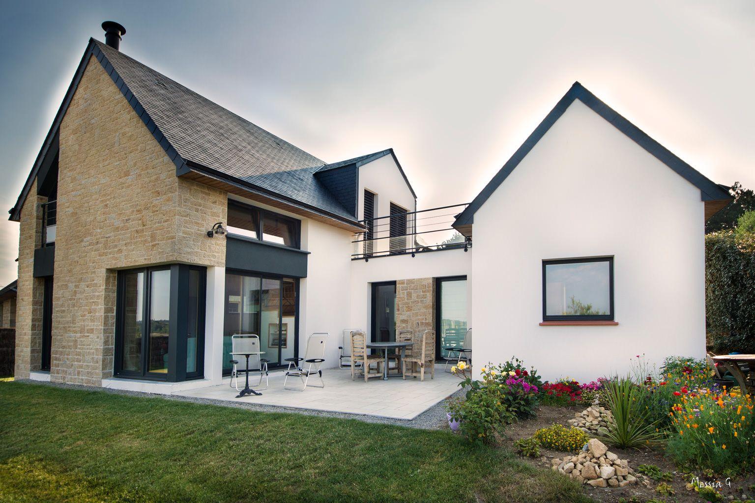 Agrandissement Maison Néo Bretonne maison néo-bretonne | maison, agrandissement maison, maison