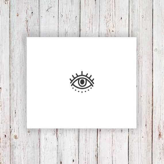 Evil Eye Temporary Tattoo In 2020 Evil Eye Tattoo Third Eye Tattoos Eye Tattoo Meaning