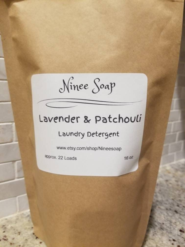 Lavender Patchouli Laundry Detergent Handcrafted In 2020