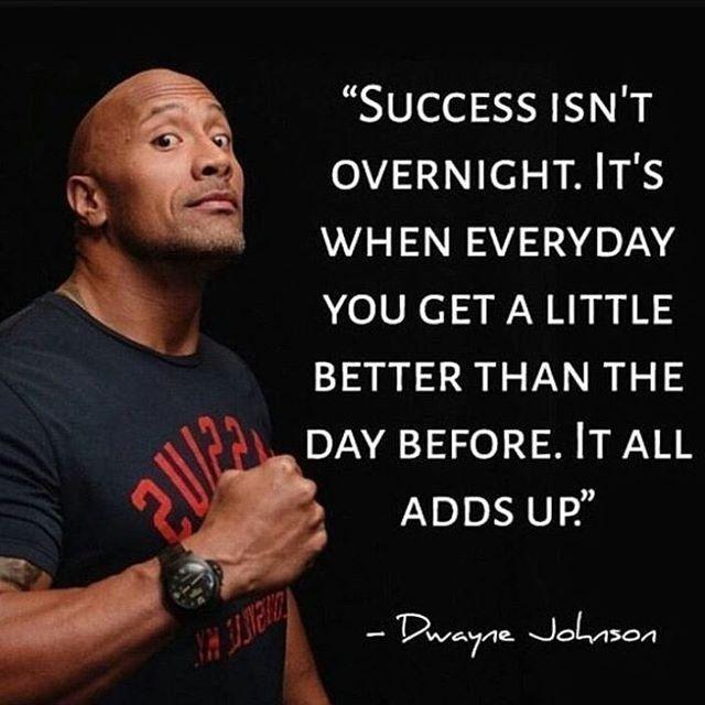 The Rock Says Rock Wwe Motivation Teameldiablo