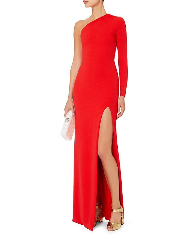 Solace London Nadia One Shoulder Gown   Glamorous Gowns   Pinterest ...