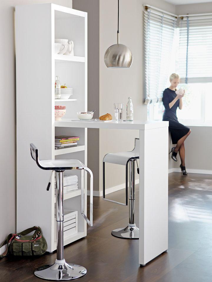 Schmale Räume richtig gestalten in 2019 | küche susi | Bartisch ...