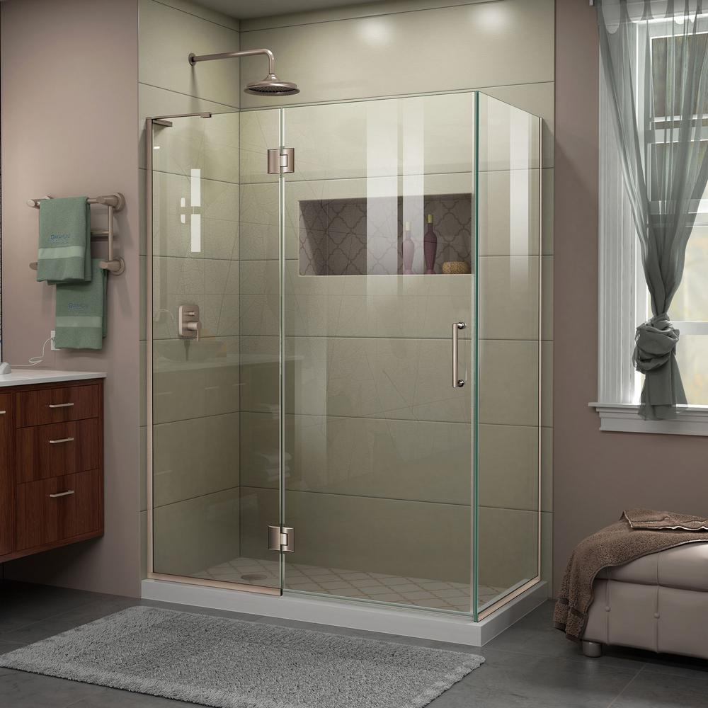 Dreamline Unidoor X 47 3 8 In W X 30 In D X 72 In H Frameless