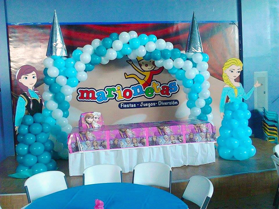 Arco de frozen y princesas decoraciones pinterest for Decoracion de princesas