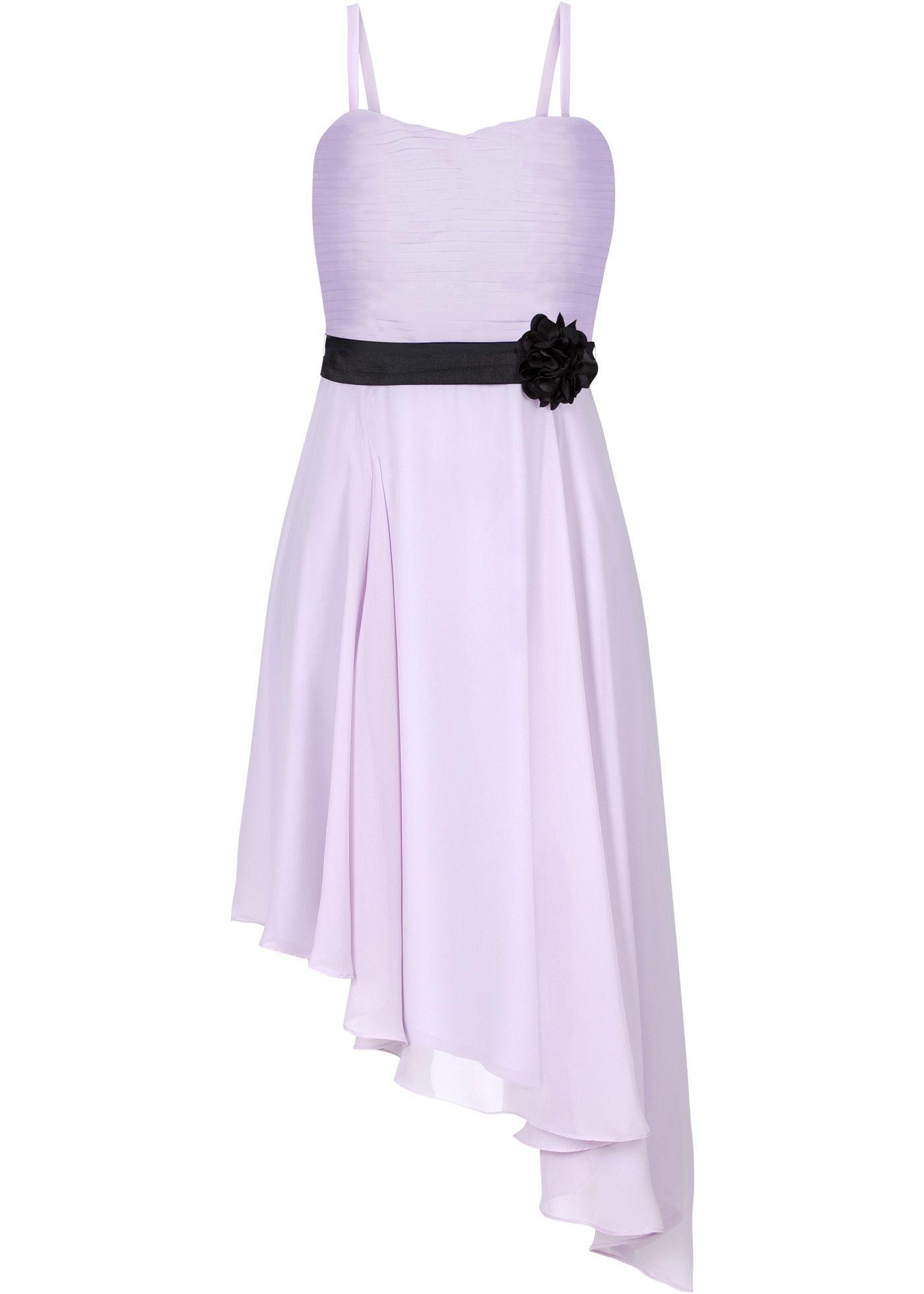 f862bb01302f Abito con fiore Violetto   nero - BODYFLIRT è ordinabile nello shop on-line  di bonprix.it da   37