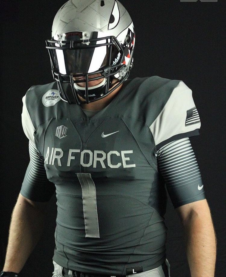 Air force flying tiger football uniform one of the coolest