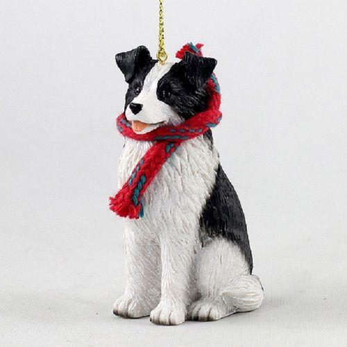 Border Collie Large Ornament Christmas Dog Collie Dog Border