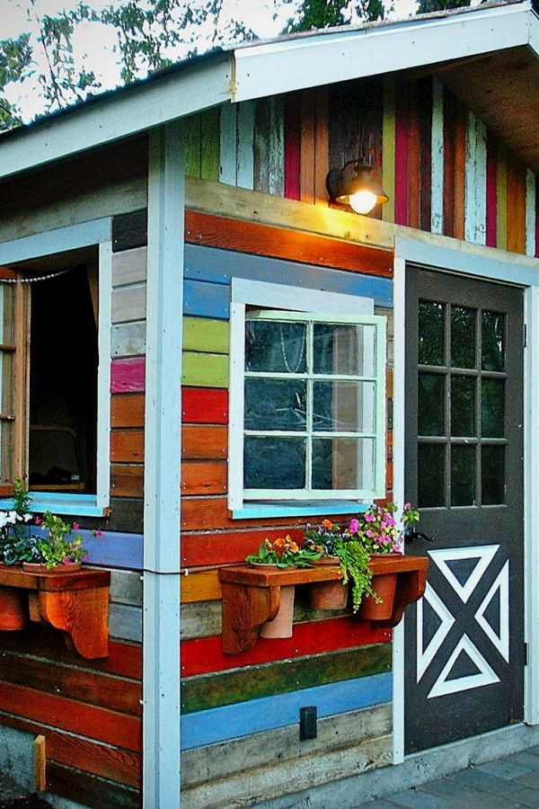 10 Easy Garden Shed renovated ideas for your landscaping project - Potting Shed Designs