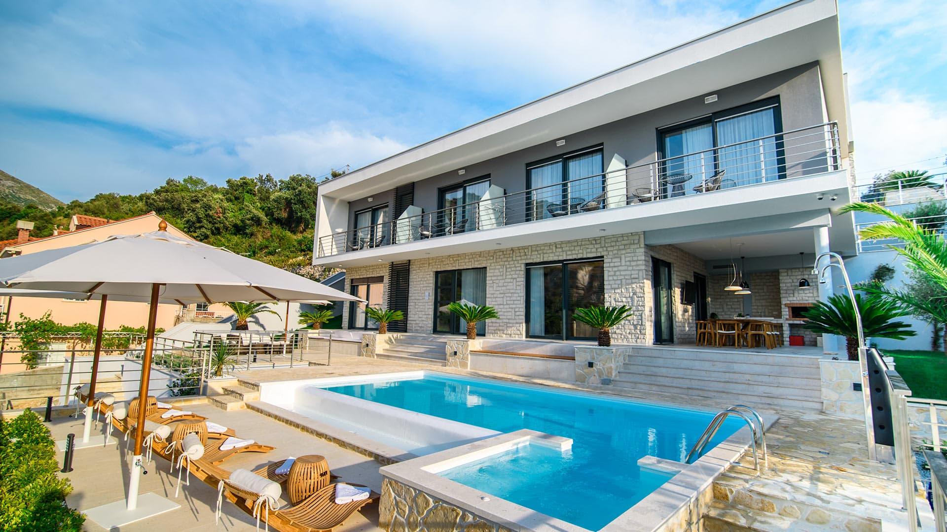 Villa Tanivka Croatia villanovo villa luxury