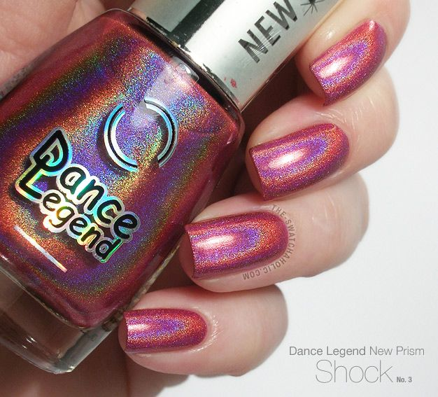 Nail Envy Legends Hours: Dance Legend Shock From The New Prism Collection: Swatches