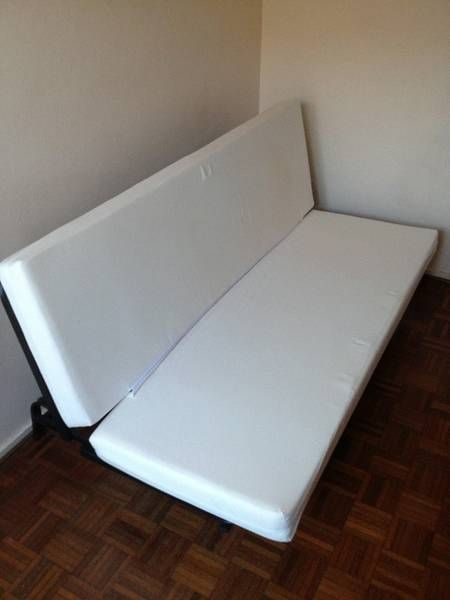 Exarby Three Seat Sofa Bed Brattholmen White Beds 3 4