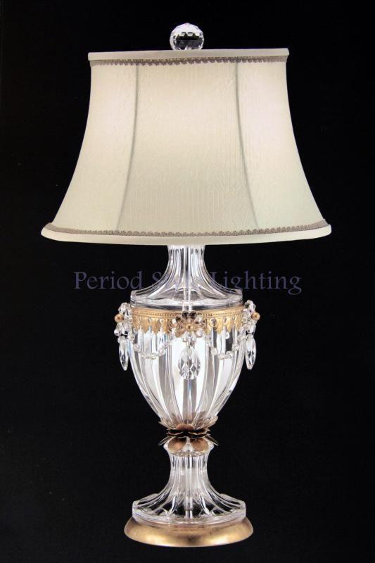 Swarovski Crystal Table Lamp Ideas On Foter Lamp Shade Finials