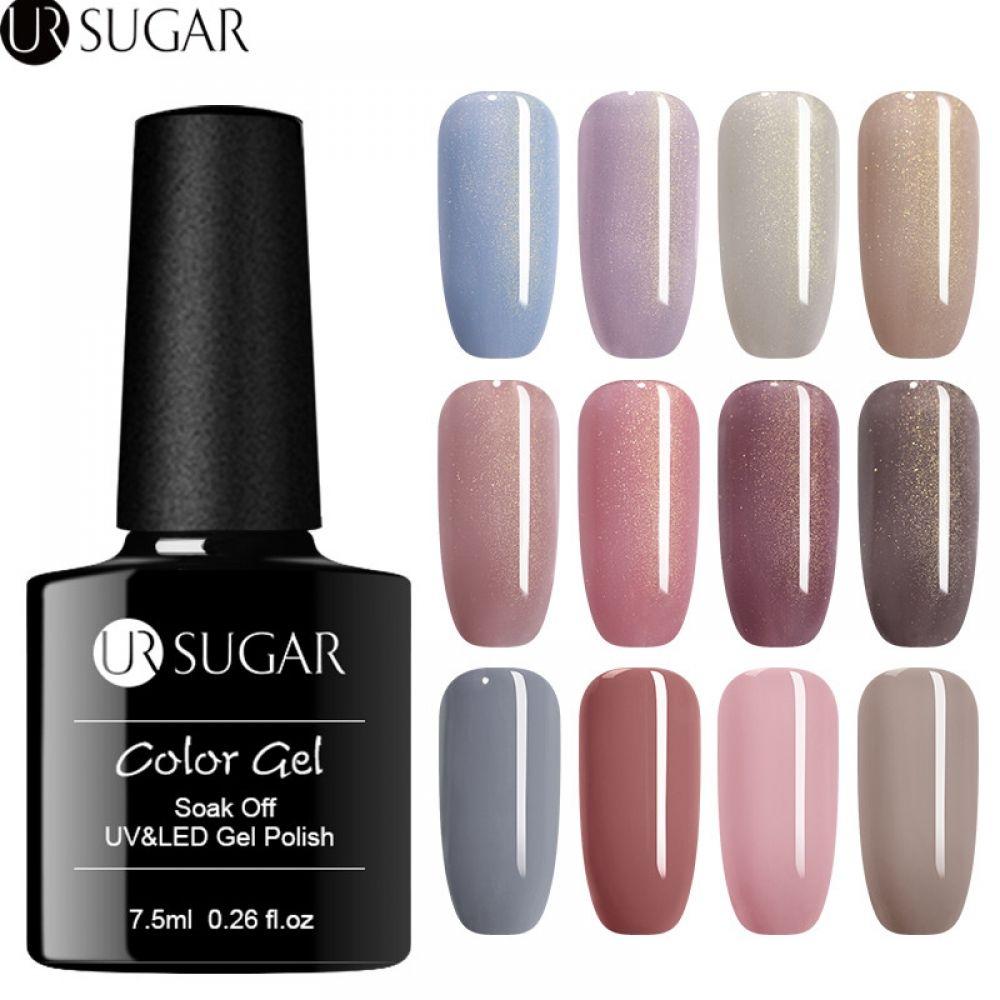 UR SUGAR Thermal Glitter UV Gel Polish 7.5ml Soak Off UV