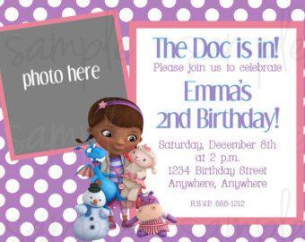 Doc mcstuffins birthday invitation by designsbyirmarier on etsy doc mcstuffins birthday invitation by designsbyirmarier on etsy filmwisefo Images