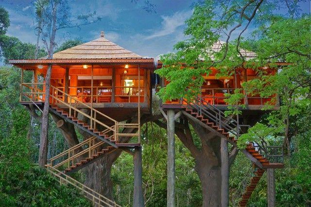 Rangerwood Nature Castle Machan is an unique Treehouse