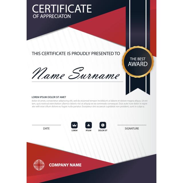 Elegance Horizontal Certificate With Vector Illustration Boating Business Cards Visit