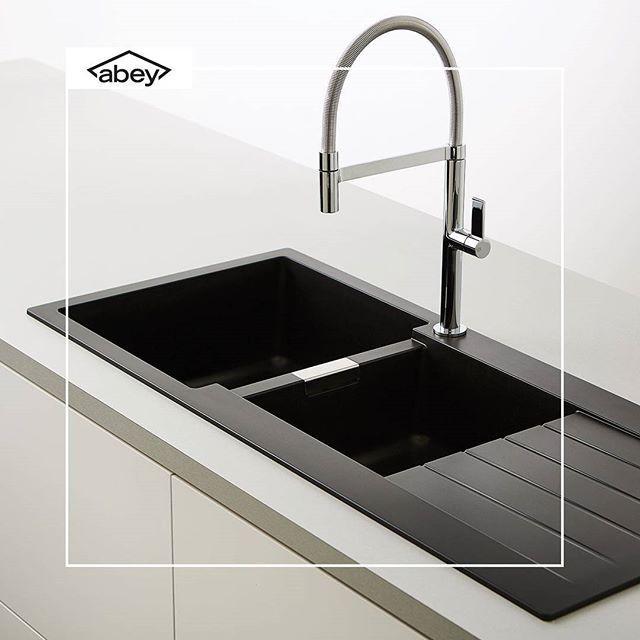 Cristadur sinks by @abeyaustralia. #kitchensinks   Sink ...