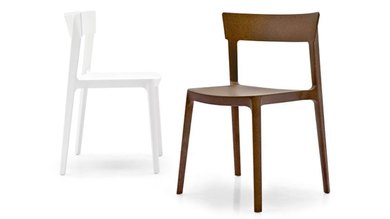 Sklum Sedie ~ In the future stacking chairs will be made from liquid wood and