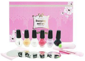 Konad Premium French Manicure Nail Stamping Kit Fast Shipping By Art 84 99