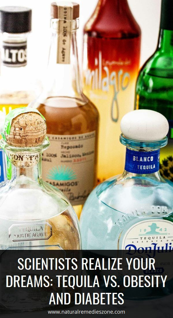 Scientists Realize Your Dreams: Tequila vs. Obesity and Diabetes -