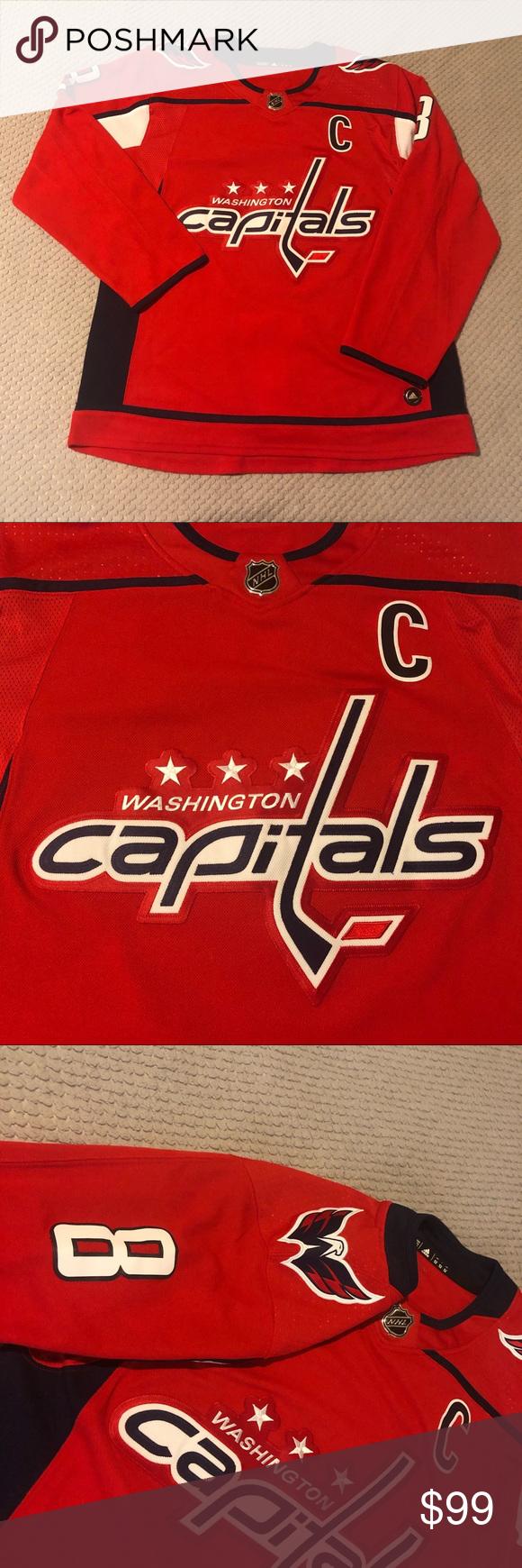 Alexander Ovechkin Washington Capitals Nhl Jersey Vintage Nike Red Adidas Nhl Jerseys