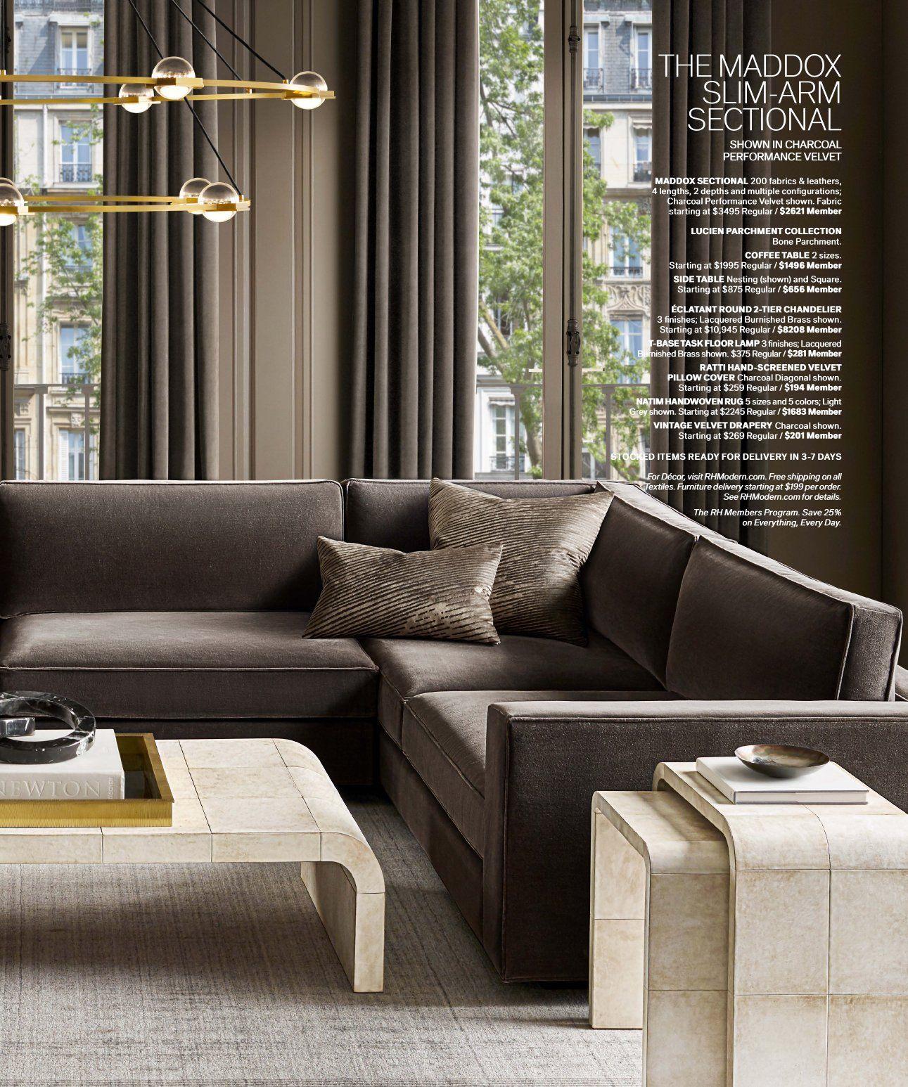 RH Source Books RH Modern 12 in 2020 | Expensive furniture ...
