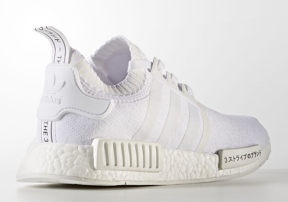 Now Available: adidas NMD R1 Primeknit Japan Triple White