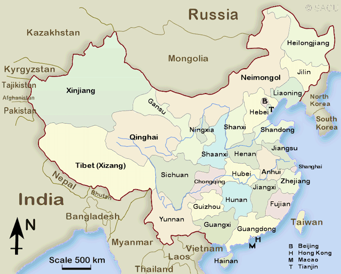 China Map In English.China Province Maps In English You Can Also Click On The Name Of A