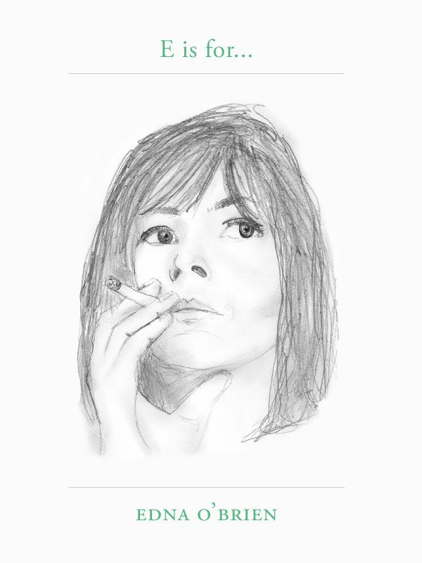 E is for… Edna O'BrienEdna O'Brien is an Irish novelist