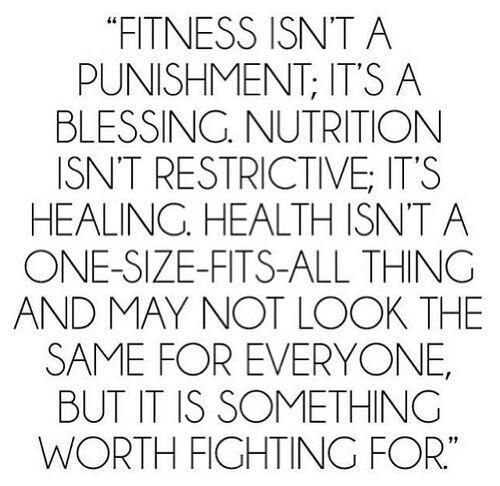Healthy is worth fighting for!! You got this - Inspirational words to motivate you to stay on track with fitness and healthy goals