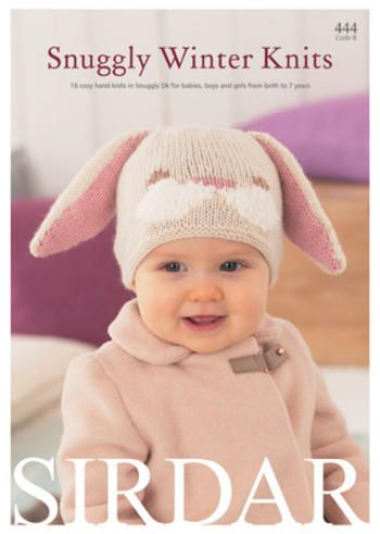 Sirdar Knitting Pattern Book 444 - Snuggly Winter Knits Preview ...